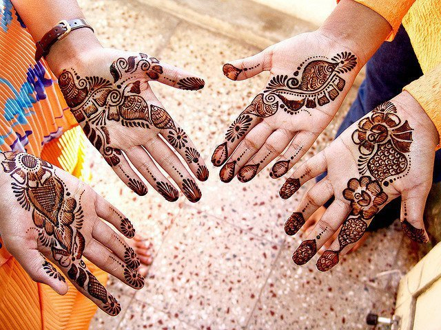 Latest Free Mahndi Designs 2016