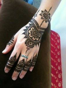 Latest Mahndi Designs for girls