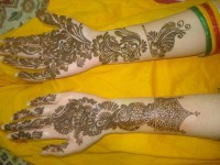 Latest New New Mehndi Designs for Eid Ul Fitr 2016