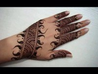 Latest New Mehndi Designs for Eid-Ul-Fitr 2016