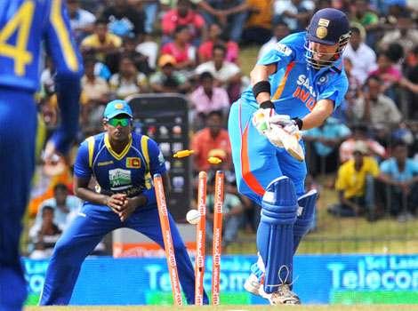 Sri Lanka beat India by 161 runs in a one-day cricket international