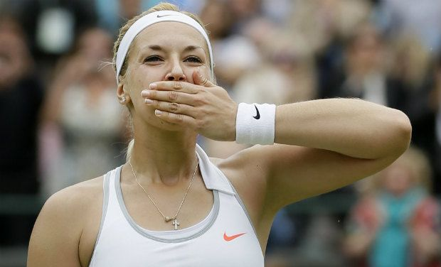 Lisicki beats Kanepi to enter Wimbledon semi-finals