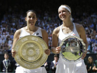 Marion Bartoli Wins Women's Title At Wimbledon Defeating Lisicki