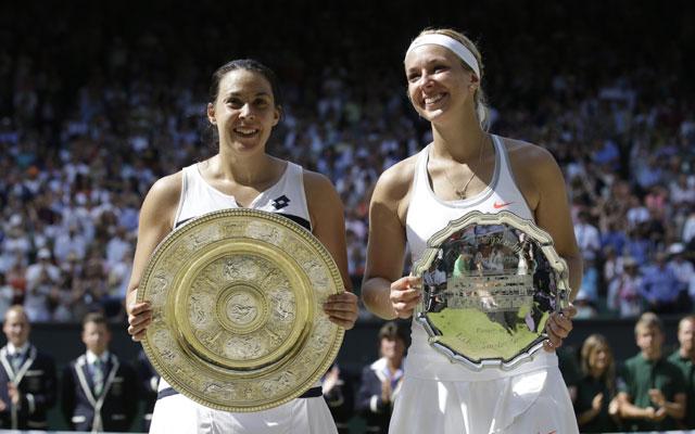 Marion Bartoli Wins Women's Title At Wimbledon Defeating Lisicki