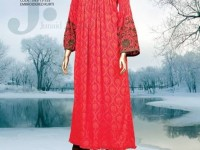 Latest Junaid Jamshed FallWinter Dresses Collection-2014