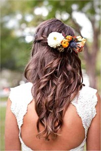 Pakistani And Indian Hair style for Wedding