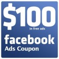 Free Facebook Coupon $100 Ads