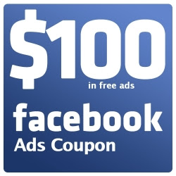 How To Free Get $100 Facebook coupon