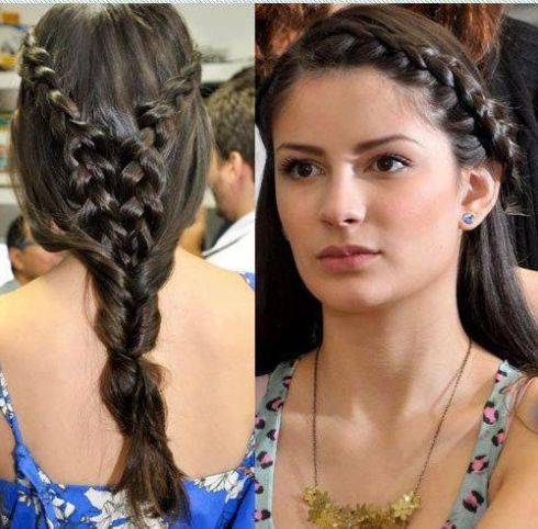 Long Hairstyle in Pakistani and Indian Girls Trend