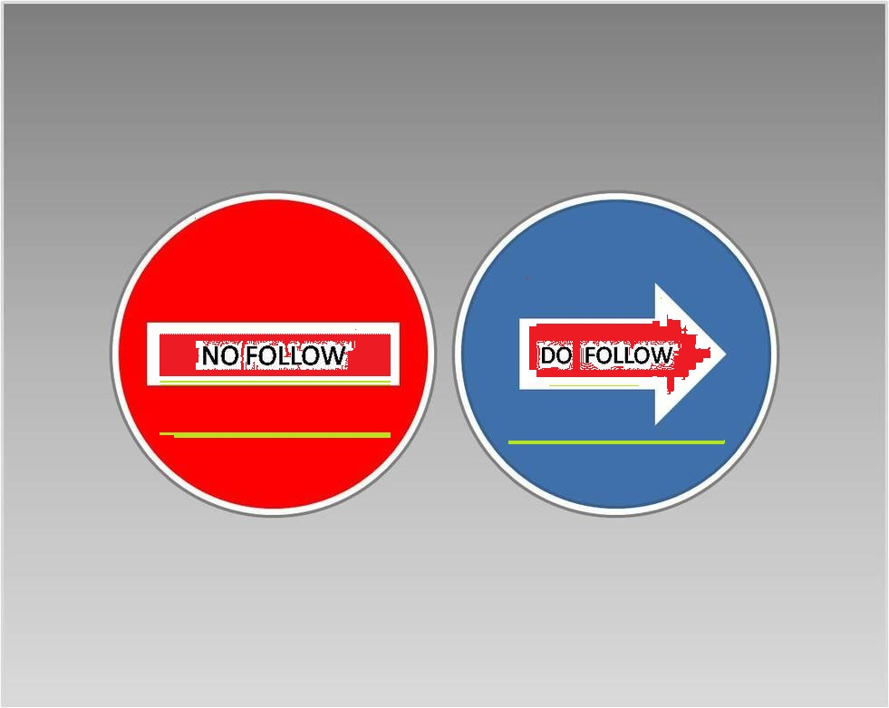 What is a DoFollow and NoFollow Links?