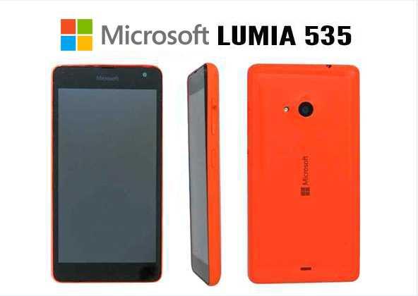 Lumia 535: Microsoft First Smartphone Specs