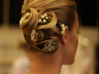 wedding hairstyles for brides and bridesmaids