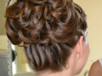 bun latest bridal wedding hairstyles 2015