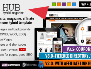 REHub – Directory Shop Coupon Affiliate Theme Free Download