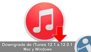 downgrade itunes