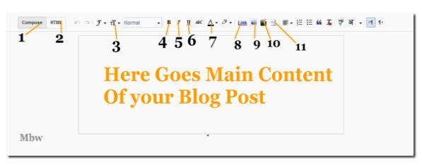 Blogger first post step by step