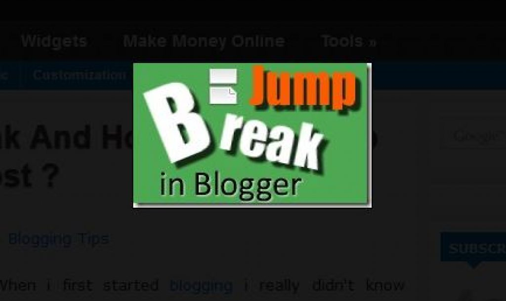 What Is Jump Break And How To Add Jump Break In A Blog Post?